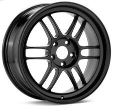 17 ENKEI RPF1 BLACK RIMS 17x8 +35 5x114.3 FITS: LANCER RSX TSX CIVIC ECLIPSE