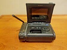 "Sony Video Walkman Video 8 8mm Hi8 Player GV-S50 NTSC- 4""  AS IS Parts or Repair"