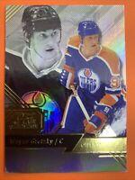 2016-17 Fleer Flair Showcase Legend Row1 Seat20 Wayne Gretzky Edmonton Oilers
