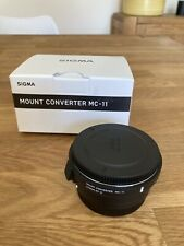 Sigma MC-11 Mount Converter Lens Adapter for Sony E-Mount