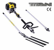 52cc Hedge Trimmer Garden Cutter Petrol Engine Cordless Tool 1m Extension Pole