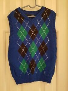 Boys Basic Edition Sweater Vest Size 8