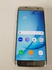 New listing Samsung Galaxy S7 Edge 32Gb Silver Sm-G935U (Unlocked) Reduced Price Jw9742