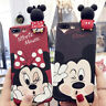 Mickey Minnie Mouse 3D Fundas Disney Iphone 6/6S, 6+/6S+ ,7/7+ ,8 /8+
