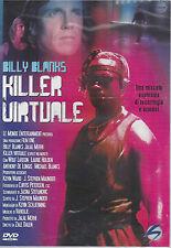 Dvd **KILLER VIRTUALE** con Billy Blanks nuovo sigillato 1995