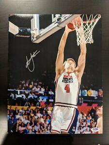 DUKE CHRISTIAN LAETTNER signed autographed DREAM TEAM 11x14 PHOTO PSA/DNA COA