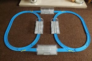 TOMY HYPERCITY /TRACKMASTER/PLARAIL- TRACK SET,4 NEW JUNCTIONS/TUNNELS + CURVES.