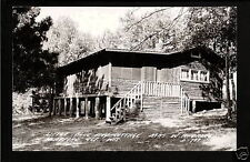Heafford Junction Wisconsin 1944 RPPC WH Daly Cabin WI
