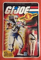 G. I. Joe Cobra STORM SHADOW V1 Figure Hasrbro 1984 Version ARAH ReadDescription