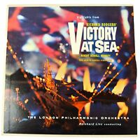 "Victory at Sea Richard Rodgers Record Vinyl LP 12"" Symphony Orchestra Bennett"