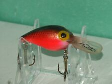 WIGGLE WART CLEAR LIP FISHING LURE - GREAT COLOR-