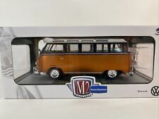 M2 MACHINES 1:24 1959 VW Microbus Deluxe USA Model Vintage 1960's Air Cooled.