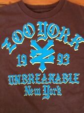 Zoo York 1993 Unbreakable Skater Surfer Mens Graphic 100% Cotton T-shirt S 34