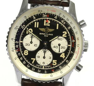 BREITLING Navitimer 92 A30022 Antique chronograph Automatic Men's Watch_590378