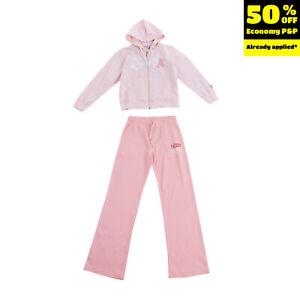 FREDDY Hoodie & Trousers Set Size 8Y Logo Full Zip