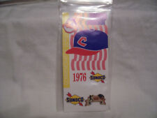 CLEVELAND INDIANS BASEBALL CAP 1976 LAPEL HAT PIN  SUNOCO COMMEMORATIVE SERIES