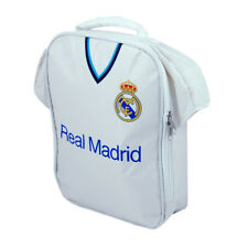 REAL MADRID WHITE LUNCH/COOLER BAG OFFICIALLY LICENSED SHIPS FROM USA