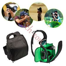 Waterproof Shoulder Sling Camera Backpack Bag DSLR SLR Case for Canon Nikon Sony