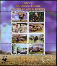 Elephants Mozambican Stamps