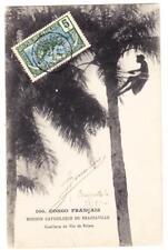 Middle Congo Sc#5-BRAZAVILLE PLAINE 23/AOUT/10-postcard view CUEILLETTE DU
