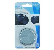 JJC Silver Auto Lens Cap Panasonic LUMIX DMC-LX100 LEICA D-LUX DMW-LFAC1