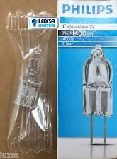 PACKS OF Philips M73 12V 75W 75 Watt Capsule GY6.35 12 Volt bulb Halogen