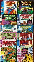 Fantastic Four Pocket Book Bundle - Includes Issue 1 (1980) Marvel - RARE - VGC