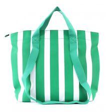 ESPRIT Durango Shopper Schultertasche Tasche Dark Green Grün Weiß Neu