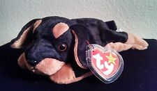 "Ty Beanie Baby Original ""Doby"" Doberman 1997 Retired"