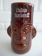 Claytan grès face vase/Tasse/Gobelet CHATEAU Napoléon Vintage