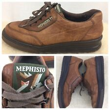 MEPHISTO Runoff Air Jet System Insoles Brown Leather Lace Up Men's Size 8.5 US