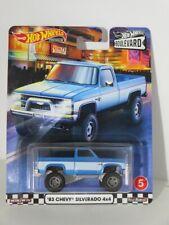 Hot Wheels 1:64 Boulevard 2020 - Chevy Silverado 4x4 1983 Brand new
