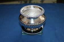 Durham Sterling Silver Footed Bowl Beautiful Hand Chased