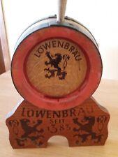 Barrica Cerveza Lowenbrau - Alemana - Vintage (Años 60)