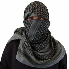 Maddog Shemagh Tactical Desert Scarf Grey Paintball Airsoft Milsim