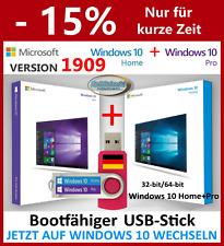 ✅ WINDOWS 10 HOME + PRO BOOTFÄHIGER USB STICK VOLLVERSION UPGRADE WINDOWS 7 / 8