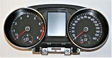 VW Polo MK8 6R Velocímetro Speedo Reloj 6C0920940A 160 mph 8000 Rpm 2010 a 2016
