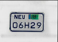 """NEVADA 2014 license plate """"06H29"""" ***MOTORCYCLE***"""