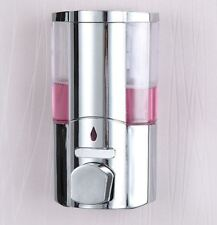 Soap Shampoo Bathroom Shower Single Chrome Dispenser Pump Action Wall Mounted