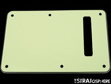 *NEW Mint Green TREMOLO BACK COVER for Fender Standard Stratocaster Strat 3 Ply