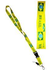 1 TOUR DE COU BRESIL BRAZIL 50 CM SUPPORTER FOOT PORTE CARTE