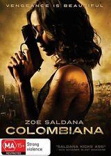 COLOMBIANA 2011 = ZOE SALDANA = PAL 4 = SEALED