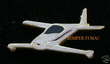 RUTAN QUICKIE AIRCRAFT LAPEL HAT PIN UP HOME BUILT PILOT CREW SOLO GIFT WING WOW