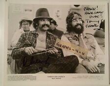 Cheech and Chong Signed Tommy Chong Cheech Marin Autograph COA X proof