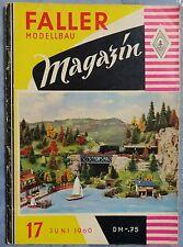 Faller  AMS --  Modellbau Magazin 17 von 1960