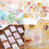 70PCS Diary Sticker Album Scrapbooking Decoration Mini Paper Sticker Tag Set DIY