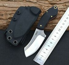 OEM CRKT Steel Fixed Blade Knife 9Cr18Mov G10 Handle Full Tang Tactical Camping