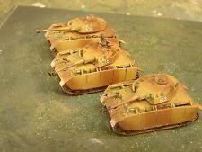 15mm Handpainted WWII German Panzer IV Tank Plt   (PSC)
