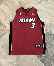 Miami Heat Dwayne Wade Adidas Youth Basketball Jersey, Size Large 14-16