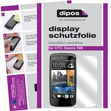 HTC Desire 500 Protector de Pantalla protectores transparente